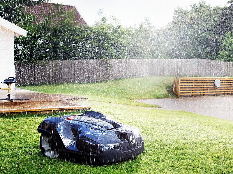 Automower dürfen aus nass werden!