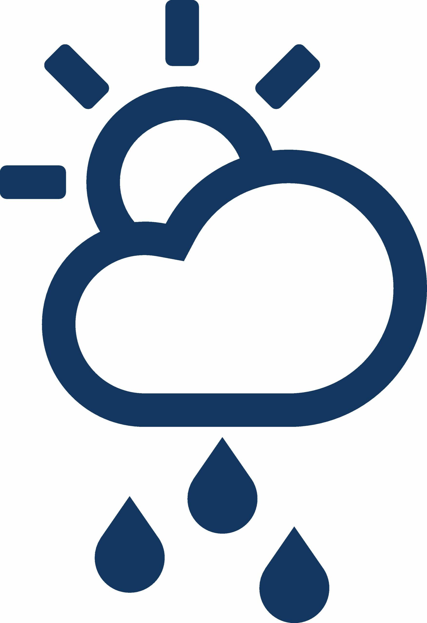 Symbol für Wetter
