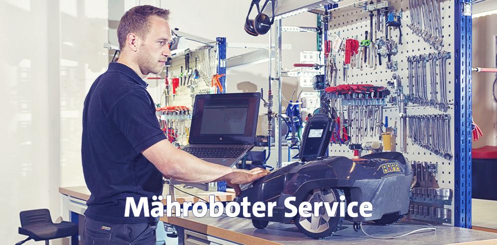 Maehroboter-Service