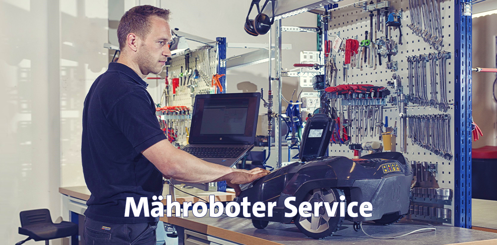 Sieb Mähroboter Service