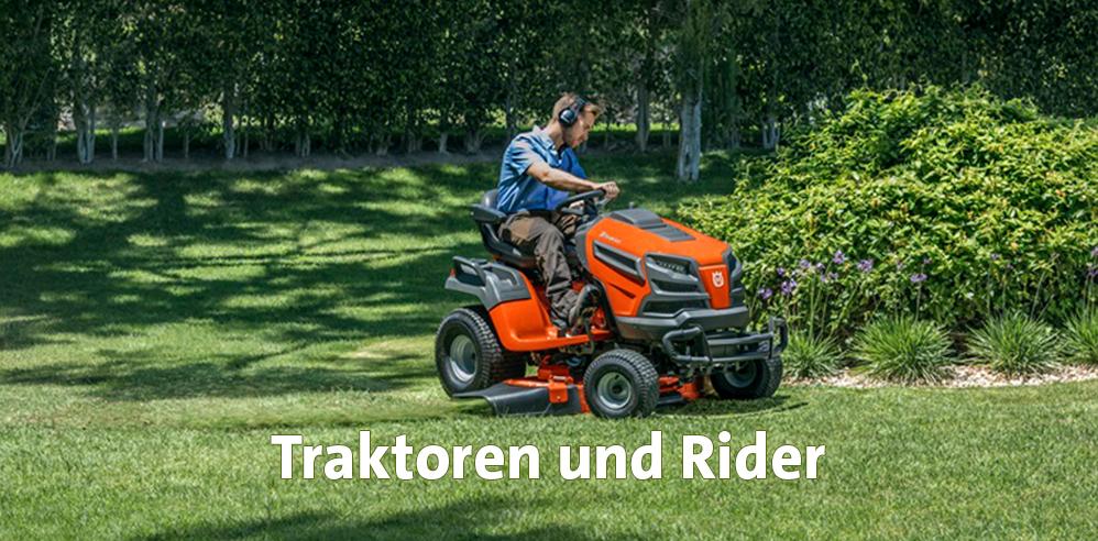 Traktoren und Rider